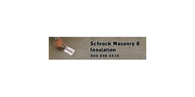 Schrock Masonry Logo